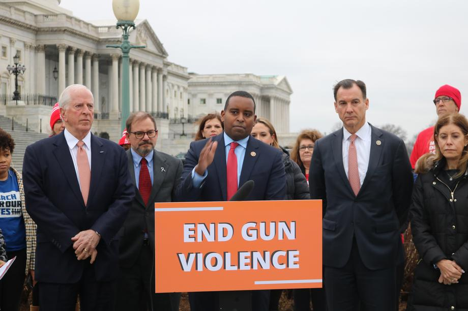 Rep. Neguse Hosts Press Conference on Gun Violence Prevention
