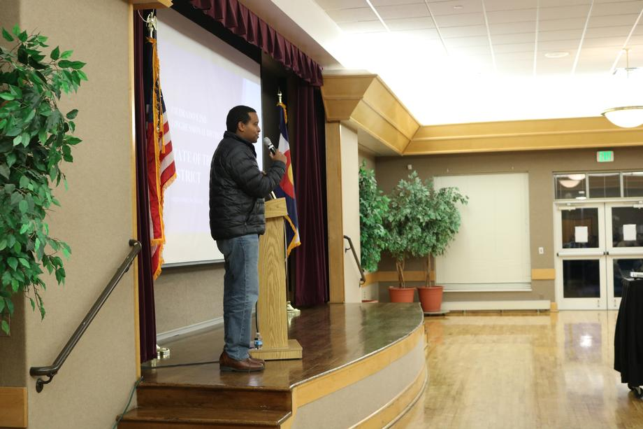 Rep. Joe Neguse Addresses Constituents at Fort Collins State of the District